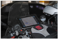 Аксессуары для мотоциклов :Крепление с кредлом для Apple iPad 4, iPad 3, iPad 2 и iPad 1 (на подголовник сиденья, руль мотоцикла)