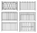 Ограды металлические