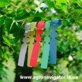 Этикетки-петля для маркировки растений TYVEK цветная 1,27х16 см, 1000 шт.
