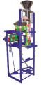 The automatic machine for packing of loose products in packages