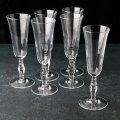 """Набор бокалов для шампанского 190 мл """"Retro"""" 6 шт Pasabashe."""