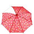 Зонт-трость красный со сладостями