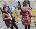 Очень удобная теплая куртка пуховик для активных людей коричневый