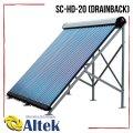 Солнечный коллектор Altek SC-HD-20 (Drainback) вакуумный в комплекте с опорой