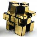 Зеркальный кубик 3х3 (золото)