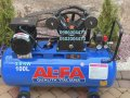 Компрессор воздушный Al-FA ALC100-2 3,8КВт 660 л/мин