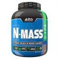 ANS Performance гейнер N-MASS US сливочная ваниль 2,72 кг