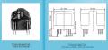 Трансформатор питания для статических преобразователей типов ТО126-115-1000В