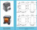 Дроссели фильтров выпрямителей низкочастотные типа Д, исполнения В, НВ по АГО.475.002ТУ