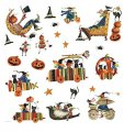 Набор интерьерных наклеек Halloween