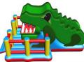 Надувной батут-горка-робот (КРОКОДИЛЬЧИК)