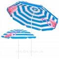 Пляжный зонт с регулируемой высотой и наклоном Springos 180 см BU0013