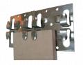 Кляммер цельный из нержавеющей стали(304)  10*1,2