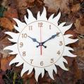 Настенные детские деревянные часы с бесшумным механизмом Настінний дитячий дерев'яний годинник з безшумним механізмом