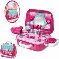 Портативный рюкзак Hairdresser toy   Игровой набор для девочки   Набор парикмахера детский