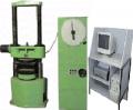 Пресс лабораторный испытательный П-10М1 (модернизированный) усил 10 т.с. для испытания образцов и изделий строительных материалов (бетона, природных и искусственных строительных камней) на сжатие. Машина оснащена торсионным гидравлическим силоизмерителем