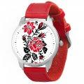 Наручные часы AndyWatch Цветы вышиванки подарки на день рождения