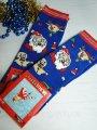 Новогодние женские ароматизированные носки махра MONTEBELLO