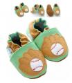 "Bootees ""Baseball"
