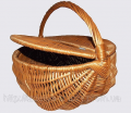 Picnic round basket from a rod the AP-106 Code