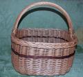 Плетённая корзина из лозы от производителя Код ОД-0901