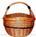 Плетеная корзина  Код ОД-012