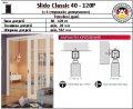 Раздвижные системы Slido Classic 40-160P с 1-сторонним доводчиком