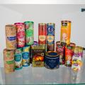 Тубус картонный для пищевых продуктов (чай, кофе, сыпучие)