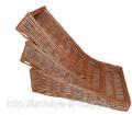 Набор плетеных лотков из лозы  Код Л-455