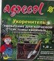 Удобрение для корневой системы хвойных растений Agrecol по 1.2 кг