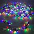 Светодиодная гирлянда LED 320 диодов, цвет мультиколор, 8 режимов, для дома и улицы.