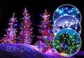 Светодиодная гирлянда LED 300 диодов, цвет мультиколор, 8 режимов, для дома и улицы.