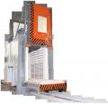 خلیج سیم 12.21.20/8.5 SDOP دروازه برق برای عملیات حرارتی.