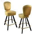 Барные стулья с возвратно-поворотным механизмом, Стул на металлокаркасе N02-02