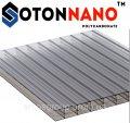 Сотовый поликарбонат SOTON NANO 10 мм (прозрачный)