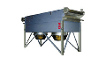 The heatexchange equipment for cooling of juice or wine by compulsory convection for wine rooms