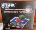 Весы торговые ALFASONIC AS-A072 50кг