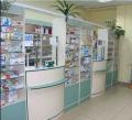 Прилавки торговые для аптек (мебель для аптек)