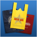 Plastic bags with a logo. Production, production of plastic bags