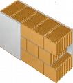 Крупноформатный кирпич керамический