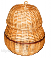 Шкатулка плетеная Арт.446
