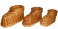 Цветочник-сувенир туфль (малелький) Арт.448.3