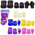 Защита CE-102620 (60шт) наколенники, налокотники в сетке, 6 цветов,в сетке, р-р упаковки – 18.5*35 с
