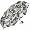 Складной зонт Fare 5468 серый камуфляж