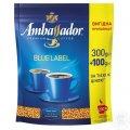 Кофе Ambassador Blue Label растворимый 400г