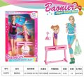 "Кукла типа ""Барби""""Гимнастка""JJ8576 (72шт 2) куколка,гимнастический снаряд, в кор.32,3*21,5*6 см"
