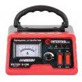 ✅ Зарядное устройство для автомобильного аккумулятора 6/12В, регулировка силы тока 0-10А, 230В INTERTOOL