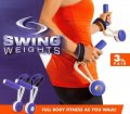 Гантели утяжелители для спортивной ходьбы и фитнеса Swing Weights   Набор гантелей