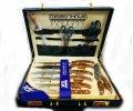 Набор ножей и столовых приборов Meizenhaus в чемодане ,25 предметов МН-2555 (69-281)