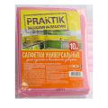 Viscose wipes for cleaning Praktik ™, 10 pcs